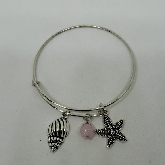 Jewelry - Seaside theme bangle bracelet